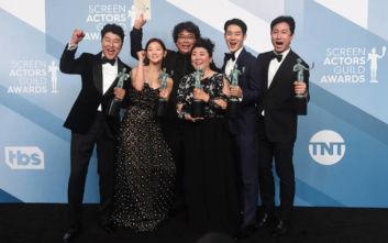 SAG Awards 2020: Η κορεατική ταινία «Παράσιτα» έγραψε ιστορία