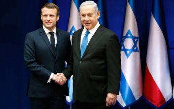 Μακρόν: Η Γαλλία είναι αποφασισμένη η Τεχεράνη να μην αποκτήσει ποτέ πυρηνικά όπλα