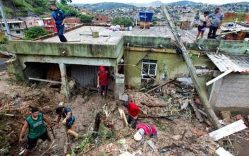 Σφοδρή κακοκαιρία με 44 νεκρούς στη Βραζιλία