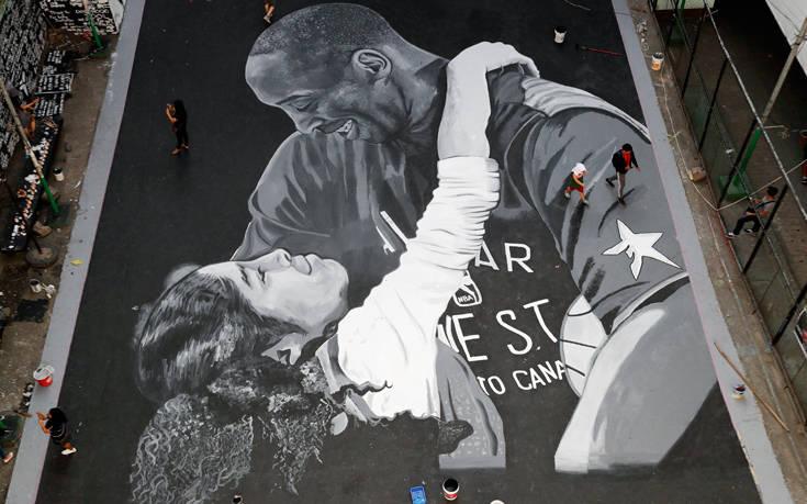 Η δημιουργία Έλληνα καλλιτέχνη για τον Κόμπι Μπράιαντ που συγκινεί