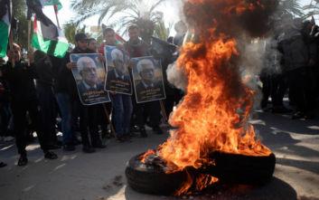 Αναταραχή στην Παλαιστίνη για το ειρηνευτικό σχέδιο των ΗΠΑ – Διαδηλώσεις στη Γάζα