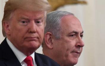 «Το σχέδιο Τραμπ επιτρέπει την επέκταση της ισραηλινής κυριαρχίας»