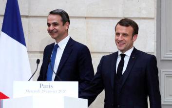 Ελλάς - Γαλλία- αμυντική συμμαχία: Κλείδωσε το ραντεβού Μητσοτάκη - Μακρόν