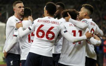 Premier League: Νίκη και +19 η Λίβερπουλ