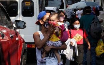 Σε έξαρση ο κορονοϊός στις Φιλιππίνες, παρατείνεται ο περιορισμός στη Μανίλα