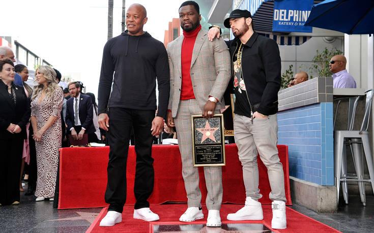 Ο 50 Cent απέκτησε αστέρι στη Λεωφόρο της Δόξας του Χόλιγουντ – Newsbeast