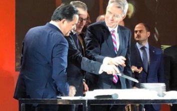 Άδωνις Γεωργιάδης - Τζέφρι Πάιατ: Χρονιά σημαντικών αμερικανικών επενδύσεων στην Ελλάδα το 2020