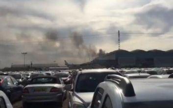 Εκκενώθηκε το αεροδρόμιο του Αλικάντε, λόγω πυρκαγιάς