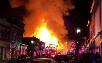 Μεγάλη φωτιά στο Νιου Τζέρσεϊ: Έμειναν χωρίς ρεύμα περίπου 3.000 άνθρωποι