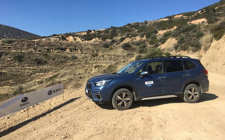 Οδηγούμε τα Forester και EV e-boxer της Subaru 27