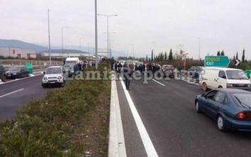 Λαμία: Κάτοικοι έκλεισαν την εθνική οδό για το hot spot στη Μαυρομαντήλα