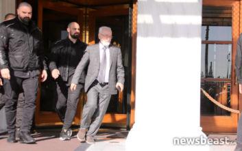 Πρώτος έφτασε ο Ιβάν Σαββίδης στη συνάντηση των Big 4