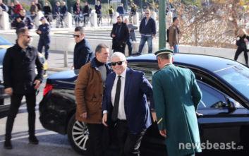 Έφτασε στο Σύνταγμα ο Μελισσανίδης για τη συνάντηση των Big 4