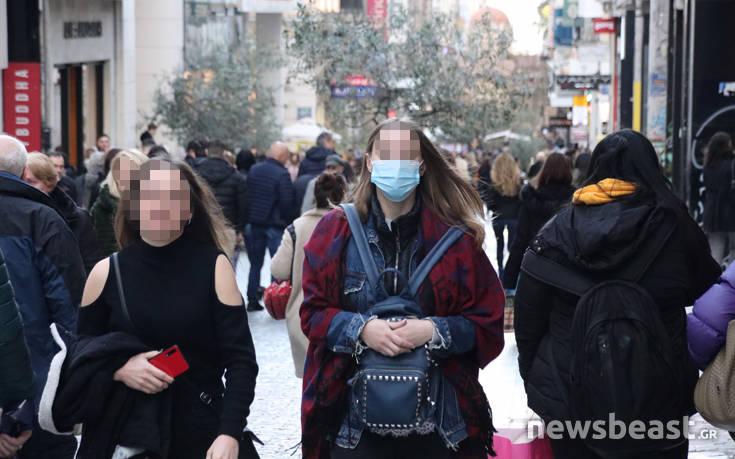 Κοροναϊός: Ο φόβος της επιδημίας «χτύπησε» και το κέντρο της Αθήνας