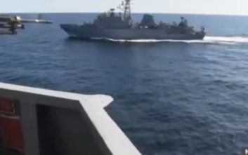 Η Ρωσία διαψεύδει το «θερμό επεισόδιο» στην Αραβική Θάλασσα με το πολεμικό πλοίο των ΗΠΑ