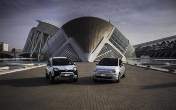 Φιλικά στο περιβάλλον τα νέα Fiat 500 Hybrid και Panda Hybrid