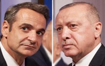 Μητσοτάκης: Ολόψυχη συμπαράσταση στον πρόεδρο Ερντογάν και τον τουρκικό λαό μετά τον καταστροφικό σεισμό