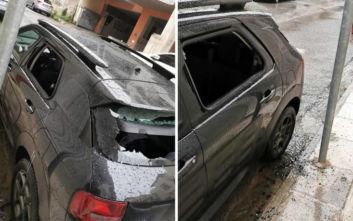 Άγνωστοι επιτέθηκαν στο αυτοκίνητο του Αλέκου Φλαμπουράρη
