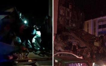 Τουρκία: 4 νεκροί από τον σεισμό - Απεγκλωβίζουν κόσμο από κτίρια που έχουν καταρρεύσει