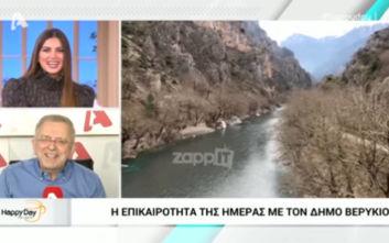 Σταματίνα Τσιμτσιλή – Δήμος Βερύκιος: Ο διάλογος για την τηλεθέαση και τα «καρφιά»