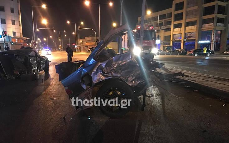 Τροχαίο στη Θεσσαλονίκη: Μόλις 17 χρονών ο οδηγός του οχήματος που μετέφερε μετανάστες