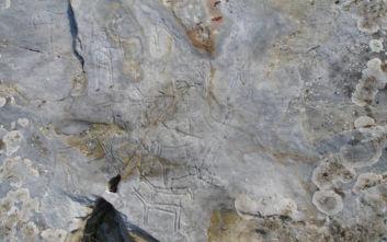 Κατέστρεψαν με συρματόβουρτσα βραχογραφίες ηλικίας άνω των 3.000 ετών