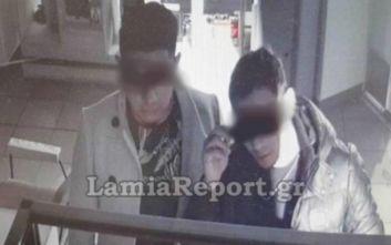 Λαμία: Καρέ - καρέ η ληστεία σε κατάστημα οπτικών