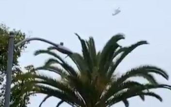 Βίντεο ντοκουμέντο από το ελικόπτερο του Κόμπι Μπράιαντ να κάνει κύκλους