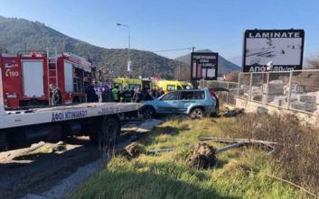 Ένας νεκρός και τραυματίες μετά από ανατροπή ΙΧ που μετέφερε μετανάστες στην Καβάλα