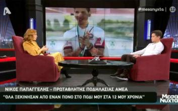 Νίκος Παπαγγελής: Ο πρωταθλητής ποδηλασίας που ακρωτηριάστηκε όταν ήταν 15 ετών