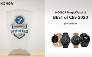 «Best of CES 2020» για το νέο smart watch HONOR Magic Watch 2