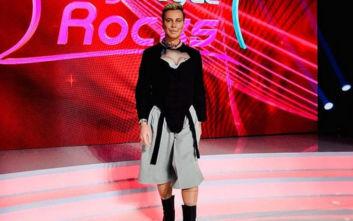 My Style Rocks 3: Με μπούστο και κορμάκι ο Λάκης Γαβαλάς