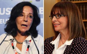 Συγχαρητήριο μήνυμα της Μαρίας Δαμανάκη προς την ΚατερίναΣακελλαροπούλου