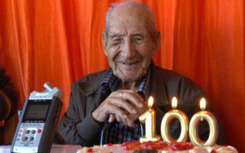 Η συγκλονιστική ιστορία του ανθρώπου που γλύτωσε από τα στρατόπεδα των ναζί και γιόρτασε τα 100ά του γενέθλια