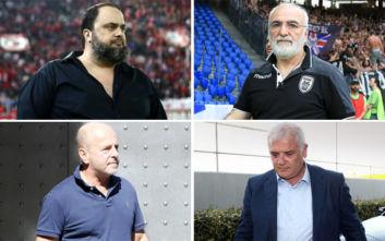 «Κλειδώνει» το ραντεβού FIFA/UEFA με το «Big-4» του ελληνικού ποδοσφαίρου