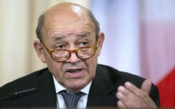 O Γάλλος ΥΠΕΞ καταγγέλλει τις «δηλώσεις βίας, ακόμη και μίσους» από τον Τούρκο πρόεδρο