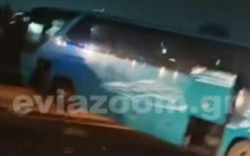 Βίντεο ντοκουμέντο από το θανατηφόρο τροχαίο στην Αθηνών - Λαμίας: Οι στιγμές μετά τη σφοδρή σύγκρουση