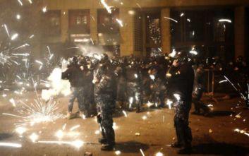 Βίαιες συγκρούσεις μεταξύ αστυνομίας και διαδηλωτών στη Βηρυτό