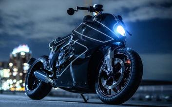 Η μοτοσικλέτα που χαίρεσαι και μόνο που τη βλέπεις