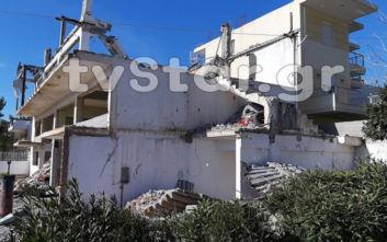 Εργάτης καταπλακώθηκε από κολόνα στη Χαλκίδα