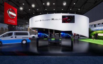 Δυναμικό «παρών» στην έκθεση τεχνολογίας CES 2020 δίνει η Nissan