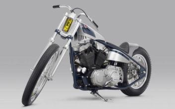 Μια θρυλική Harley σε μια μετατροπή που της έκλεψε όλη την ιστορική δόξα