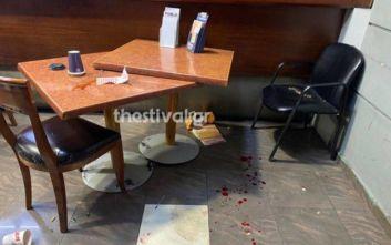 Άγριες συμπλοκές αλλοδαπών με μαχαίρια σε πρακτορείο ΟΠΑΠ στη Θεσσαλονίκη