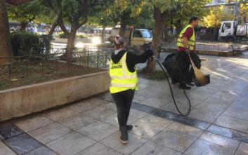 Δήμος Αθηναίων: Παρέμβαση καθαριότητας και αποκατάστασης στην πλατεία Βικτωρίας