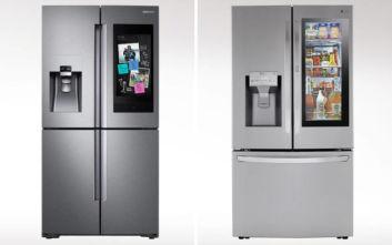 Η μάχη της τεχνολογίας δίνεται πια στα… έξυπνα ψυγεία