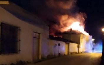 Πυρκαγιά σε σπίτι στην Πυργέλα Αργολίδας - Αγωνία για δύο αδέλφια
