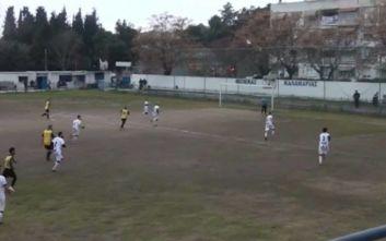 Τρομερό γκολ από 46χρονο στα τοπικά της ΕΠΣ Μακεδονίας