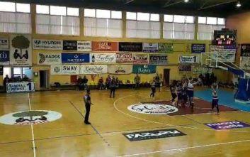 Έριξαν κουτουλιά σε διαιτητή αγώνα μπάσκετ στην Κέρκυρα