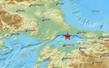 Σεισμός 4,9 Ρίχτερ κοντά στην Κωνσταντινούπολη