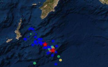 Νέος σεισμός κοντά στην Κάρπαθο